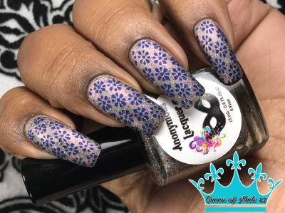 Anonymous Lacquer - Meet Me on the Midway w/ nail art