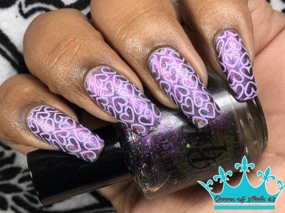 Go Flake Yourself w/ nail art