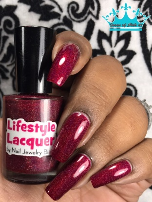 Lifestyle Lacquer - Seize the Day w/ glossy tc