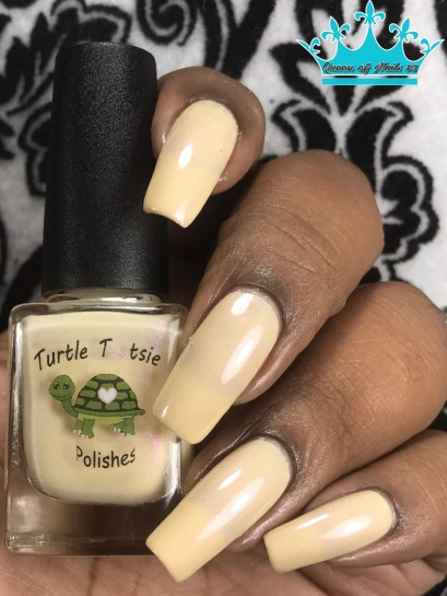 Turtle Tootsie Polish - Epilepsy Awareness w/ glossy tc