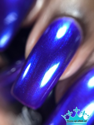 Sassy Pants Polish - We Wear Purple macro