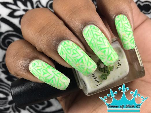 August w/ nail art