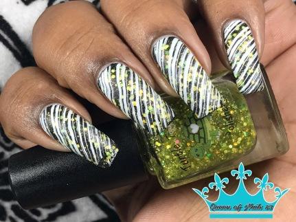 Leo w/ nail art