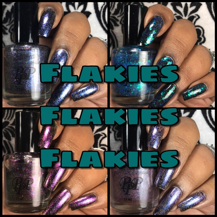 Swatch & Review: Paint It Pretty Polish – Flakies, Flakies, Flakies