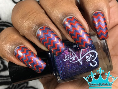 Ever After - Galaxy Quest w/nail art