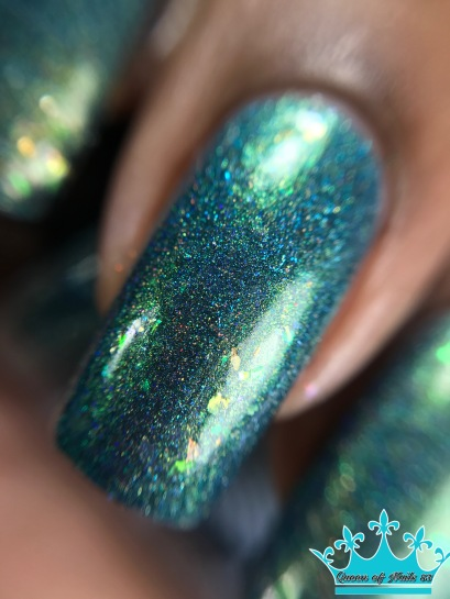 Supernatural Lacquer - Fabric of Space and Time macro