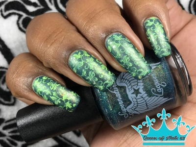 Supernatural Lacquer - Fabric of Space and Time w/ nail art