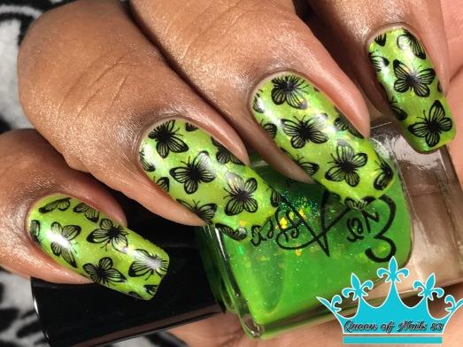 Limearita w/ nail art