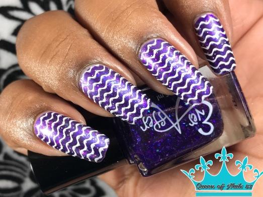 Purple Haze w/ nail art