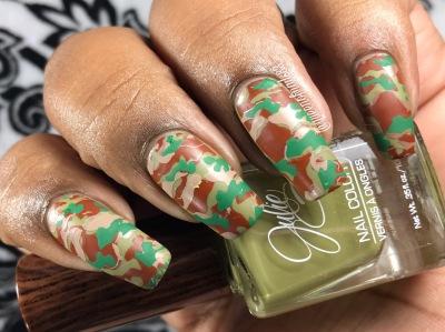 Eden w/ nail art
