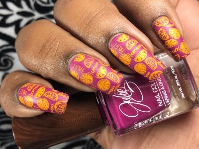 Aria w/ nail art