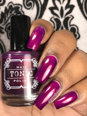 Serendipity over pink w/ glossy tc