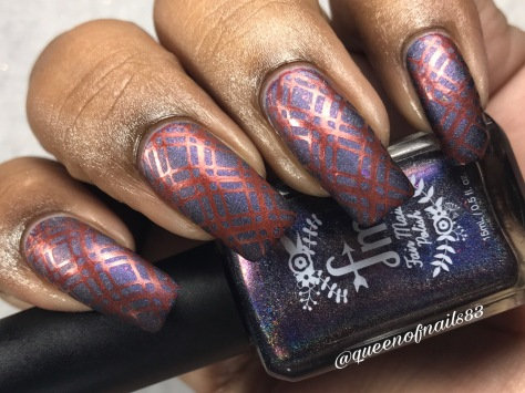 Fair Maiden - Passion Planet w/ nail art