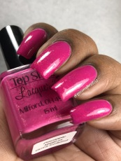 Top Shelf Lacquer - Pineapple Matte-rs w/ glossy tc