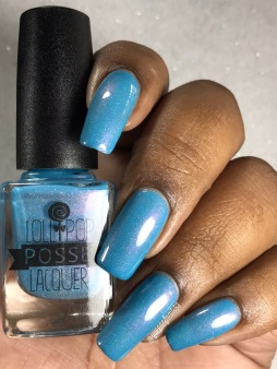 Lollipop Posse Lacquer - Eight Arms to Hold You w/ glossy tc