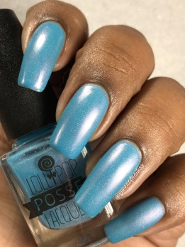 Lollipop Posse Lacquer - Eight Arms to Hold You w/ matte tc