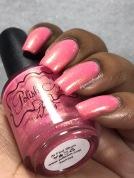 Polish 'M - At First Blush w/ glossy tc