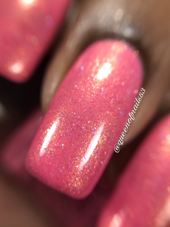 Polish 'M - At First Blush macro