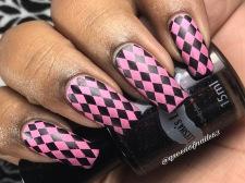 Leesha's Lacquer - Pier Pressure w/ nail art