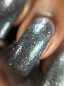 Scofflaw Nail Varnish - Charlotte Spinning in the Stars macro