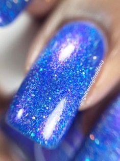 Painted polish - From The Pier, With Love macro