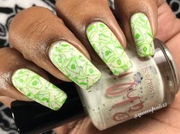 Jasmine w/ nail art
