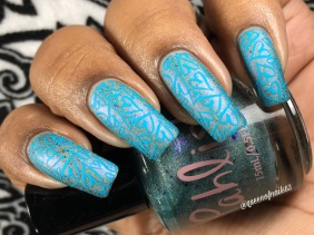 Daughters of Trition w/ nail art