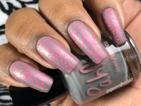 Thistle w/ nail art