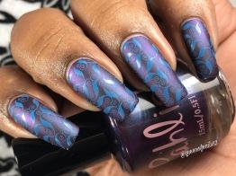 Borealis w/ nail art
