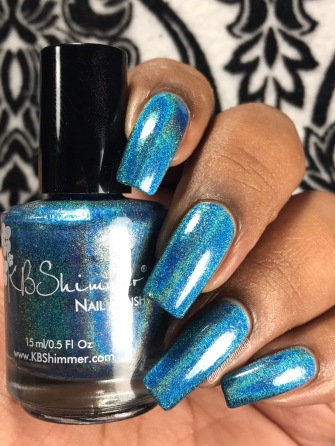 KBShimmer - That Goes Without Cyan w/ glossy tc