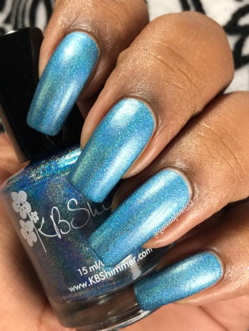 KBShimmer - That Goes Without Cyan w/ matte tc