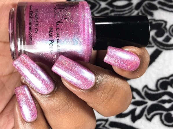 KBShimmer - Pinking of Paradise w/ glossy tc