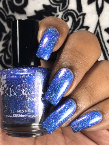 KBShimmer - One Holo-of a Storm w/ glossy tc