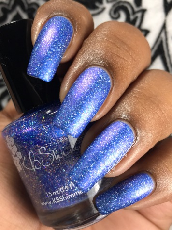 KBShimmer - One Holo-of a Storm w/ matte tc