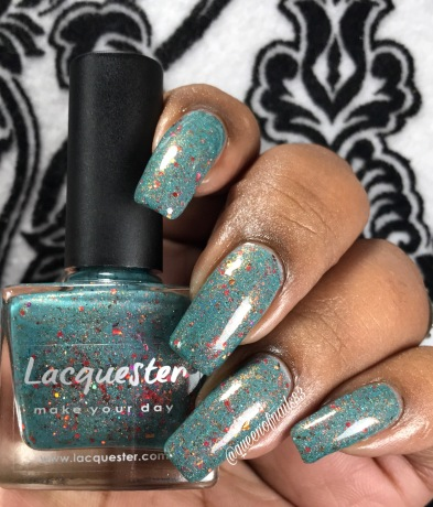 Lacquester - Poppy Like it's Hot w/ glossy tc
