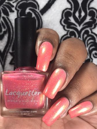 Lacquester - Bingo Flamingo w/ glossy tc