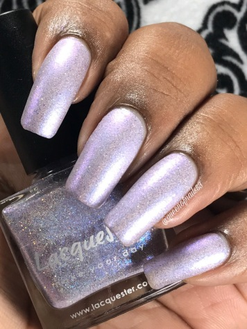 Lacquester - I Lilac You w/ matte tc