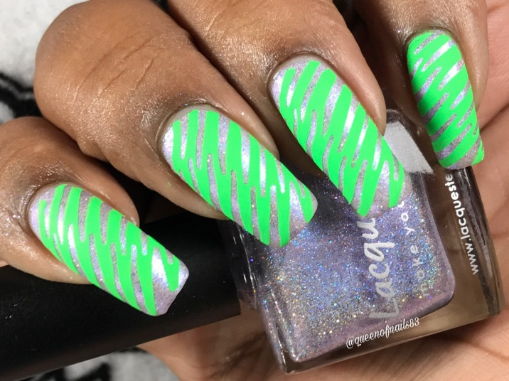 Lacquester - I Lilac You w/ nail art