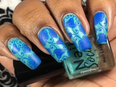 Vitamin Sea w/ nail art