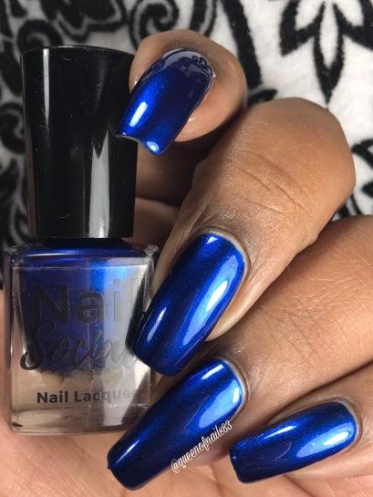 Bleu'tiful w/ glossy tc