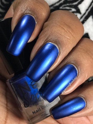 Bleu'tiful w/ matte tc