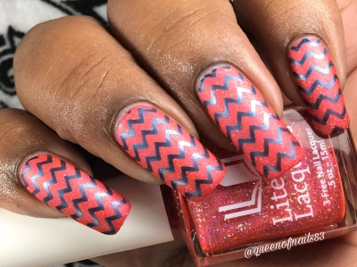 Unspeakably Desirable w/ nail art