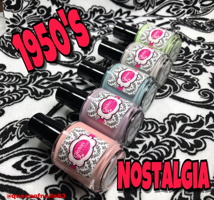 Swatch & Review: Glisten & Glow – 1950's Nostalgia Collection