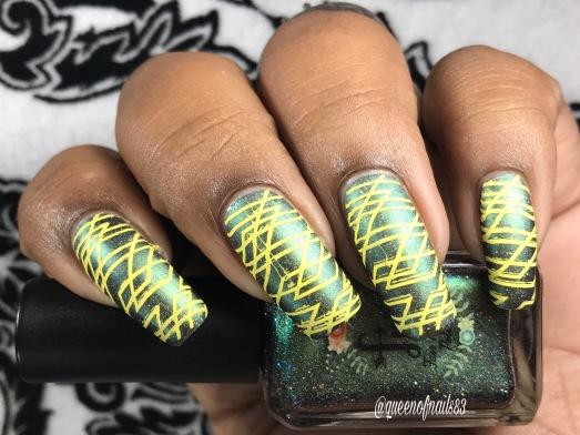 Fair Maiden: Pier Magic w/ nail art