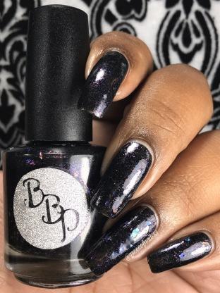 Bad Bitch Polish: Flapper Girl w/ glossy tc