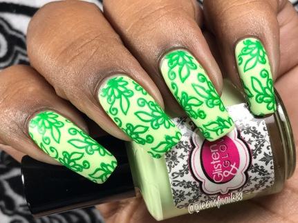 Jukebox & Jitterbug w/ nail art
