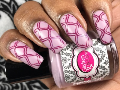 Hand Jive & Hula Hoops w/ nail art
