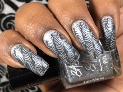 Relaxing Damage w/ nail art