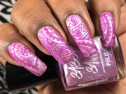 Polished Ice Cream w/ nail art
