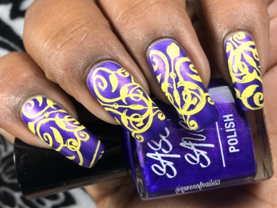Royal Balls w/ nail art